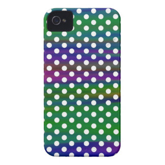 polka-dots-123-ri iPhone 4 Case-Mate cobertura