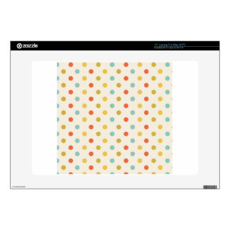 Polka-dots #2 laptop decal