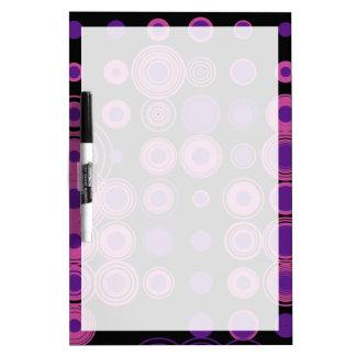 Polka Dots 3 Dry Erase Board