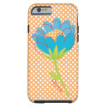 Polka Dots and Flower Custom iPhone 6 case