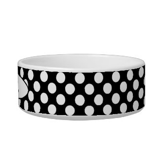 Polka-Dots and Heart Pet Bowl_Cat or Puppy Bowl