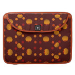 Polka Dots and Pumpkins Sleeve For MacBook Pro