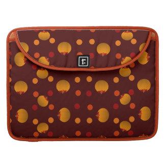 Polka Dots and Pumpkins Sleeve For MacBooks