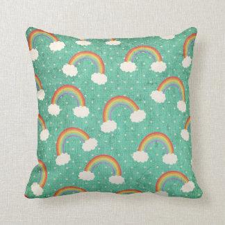 Polka Dots and Rainbows Pillows