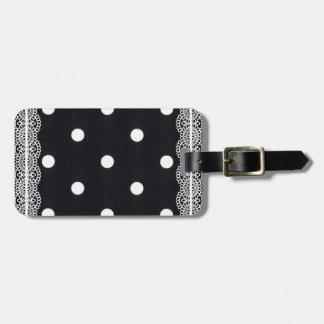 Polka Dots Bag Tag
