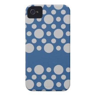 Polka Dots Blackberry Bold case, customize iPhone 4 Case-Mate Case
