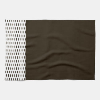 Polka Dots - Brown 3a Hand Towels