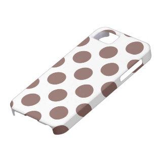 Polka Dots Cognac iPhone 5 Cover