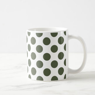 Polka Dots Cypress Coffee Mug