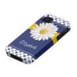 Polka Dots Daisy iPhone 4 Case-Mate Vibe