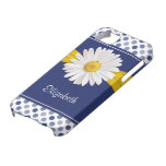 Polka Dots Daisy iPhone 5 Case-Mate Barely There