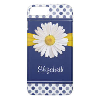 Polka Dots Daisy iPhone 6 Barely There iPhone 8 Plus/7 Plus Case