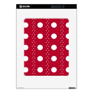 polka dots decal for iPad