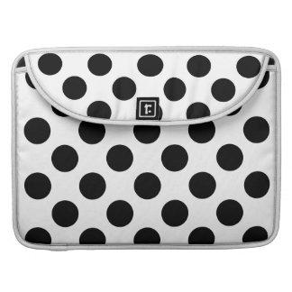 Polka Dots Design Sleeve For MacBooks