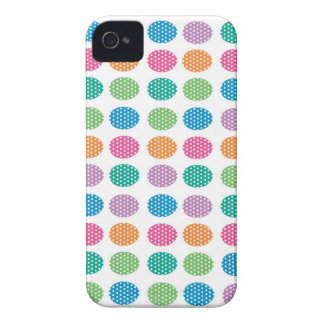 Polka dots eggs Case-Mate iPhone 4 cases