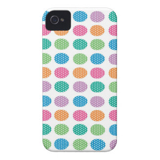 Polka dots eggs iPhone 4 Case-Mate case
