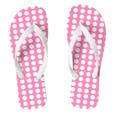Beach Themed Polka dots flip flops