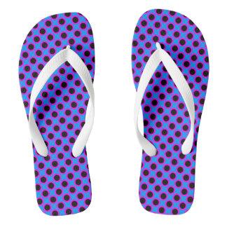 Polka Dots Flip Flops