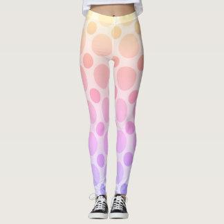 Polka dots funny design, original leggings