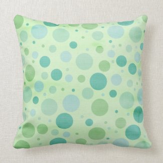 Polka Dots Giraffe Keepsake Pillow