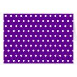 Polka Dots Greeting Cards