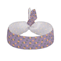polka dots halloween candies halloween pattern hair tie