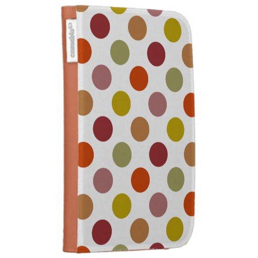 Polka Dots Harvest Mix Cases For Kindle