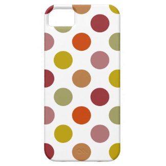 Polka Dots Harvest Mix iPhone SE/5/5s Case