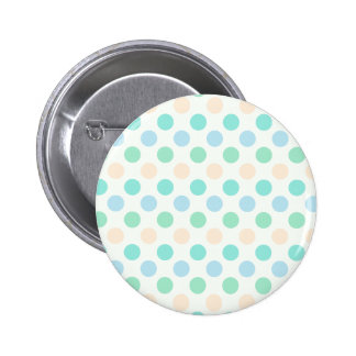 Polka-dots in Sweet Colors 2 Inch Round Button