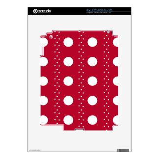 polka dots iPad 2 decal