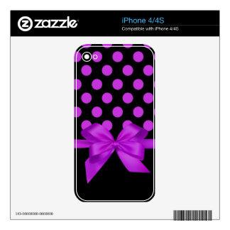 polka dots iPhone 4/4S skin iPhone 4 Decal