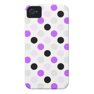 Polka Dots iPhone 4 Barely There Universal Case