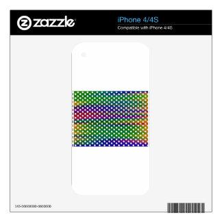 Polka-dots iPhone 4S Decals