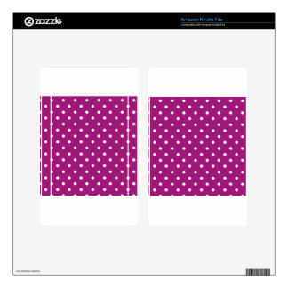 polka-dots kindle fire decals