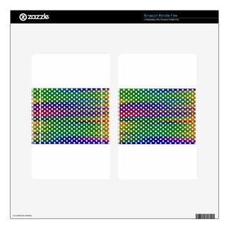Polka-dots Kindle Fire Skin