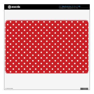 Polka Dots Laptop Skins | 11 inch MacBook Air