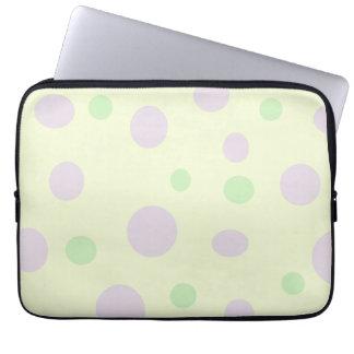Polka Dots Laptop Sleeves