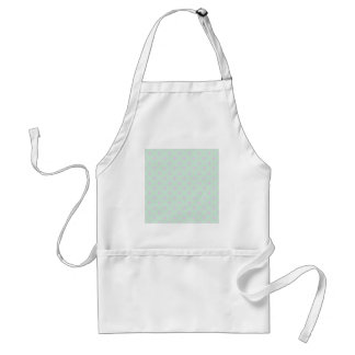 Polka Dots Large - Pale Violet and Pale Green Aprons