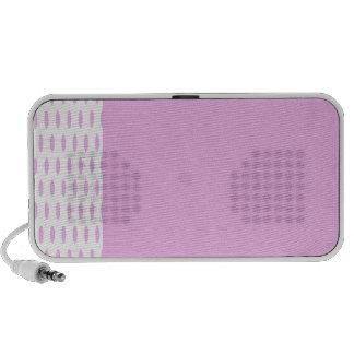 Polka Dots Large - Pink 5b iPod Speaker