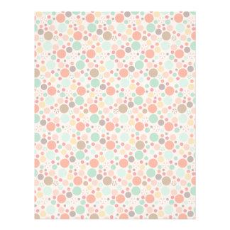 Polka Dots Letterhead Patterned Paper