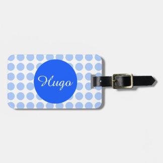 Polka Dots Bag Tags