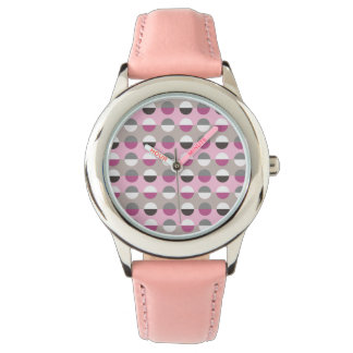 Polka Dots Modern Retro Cool Geometric Attractive Wristwatch