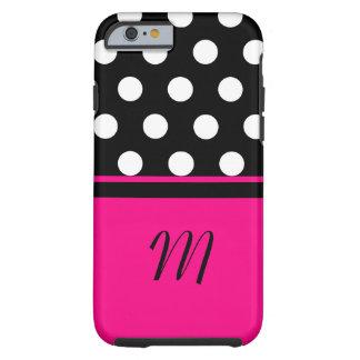 Polka Dots Monogram Case iPhone 6 Case