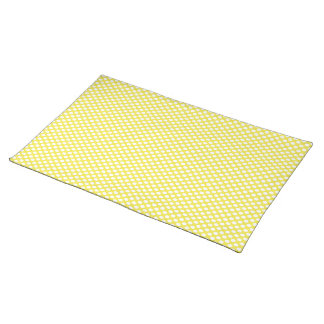 Polka Dots on Yellow Placemat
