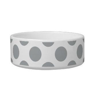 Polka Dots Paloma Cat Food Bowls