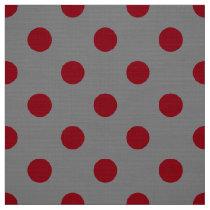 polka dots pattern fabric