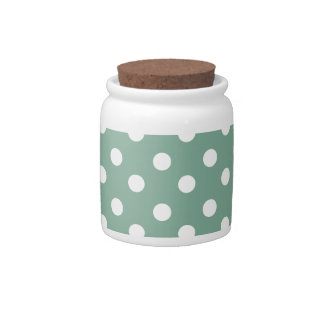 Polka Dots Pattern Gifts Candy Dishes