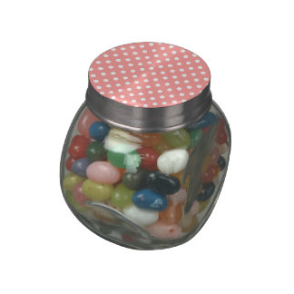 Polka Dots Pattern Gifts Jelly Belly Candy Jars
