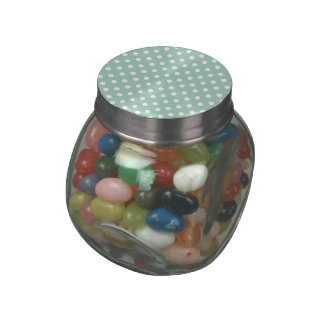 Polka Dots Pattern Gifts Jelly Belly Candy Jar
