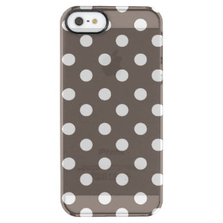 Polka Dots Pattern Gifts Clear iPhone SE/5/5s Case
